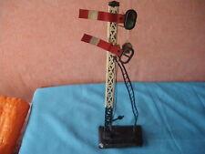 Vintage BING O 1/43,5 Pc Railway Traffic Signal Litho Tin Toy