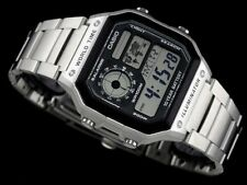 CASIO Vintage Retro AE1200WHD-1A AE-1200WHD-1A 10-Year Battery World Time @