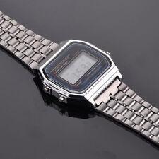 Watch Crono Silver Retro Vintage Unisex light alarm Classic - New carats