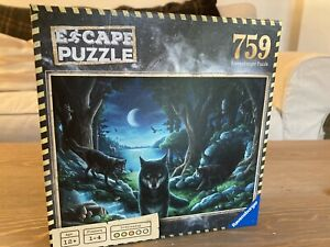Ravensberger 759 Piece Escape Puzzle CURSE OF THE WOLVES Mystery Complete
