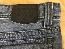"""Men's,Xtreme Couture, jeans<Label=>34x34""""(Verified)""""classic straight^zip fly"""