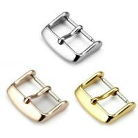 12mm-22mm Watches Band Top Stainless Steel Buckle Parts Strap Clasps Accessories