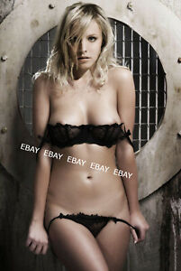KRISTEN BELL busty in lingerie ~ 4x6 GLOSSY COLOR PHOTO ~ hot actress candid #N4
