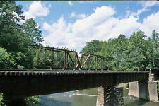 Historic structures-Bridges-Reading-Lackawanna @ Rupert Pa. 2014 Kodak slide