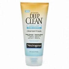 Neutrogena Deep Clean Long-Last Shine Control Cleanser/Mask 6 oz.
