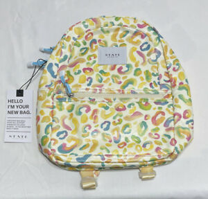 STATE BAGS Mini Kane Kids Backpack in Painterly Animal F2164218975