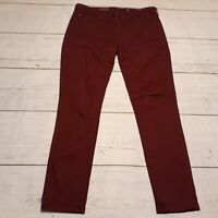 AG Adriano Goldschmied Size 29R The Abbey Mid Rise Super Skinny Ankle Pants