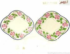 C1800 PAIR EARLY ANTIQUE WEDGWOOD CREAMWARE DISHES PATTERN NO 861