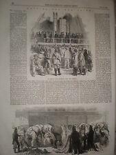 Prints and article Navvies for Crimea Balaclava railway 1855