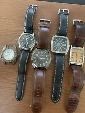 Bargain!! Mens Watch Job Lot / 5x Watches - Armani D&G Next Timberland Limit