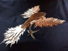 Laser Cut Wooden Pheonix Fire Bird Model/Puzzle Kit