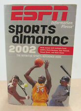 "2002 ESPN Sports Almanac: The Definitive Sports Reference Book  ""Good"" Condition"