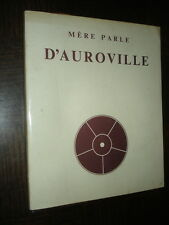 MERE PARLE D'AUROVILLE 1991 - Inde India Architecture