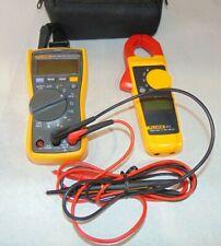 Fluke 117323 Kit 400ac600dc Multimeter And Clamp Meter Kit E30