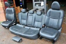 Nissan Qashqai Tekna mk2 / J11 2013-2017 set black leather seats heated electric