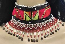 Banjara Tribal Kuchi Boho Afghan Handmade Vintage Gypsy Beaded Choker Necklace