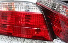 KLARGLAS R�œCKLEUCHTEN HECKLEUCHTEN SET BMW E38 7er 1994-2001 KRISTALL ROT KLAR