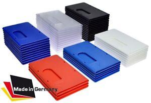 3x EC Kartenhülle EXTRA STABIL Farben frei kombinierbar Perso Schutzhüllen 1A