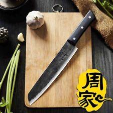 Forged Chef Kitchen Knife | Bone Meat Cleaver Slicing Fruit Vegetable Cooking
