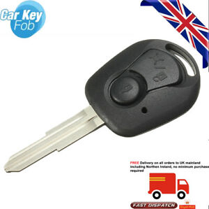 Remote 2 button remote key shell for Ssangyong Actyon kyron rexton V6W5
