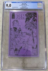 GEN 13 Special Ashcan Edition #1  CGC 9.0 (1993)  (Image Comics)!!