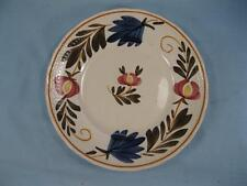 Red Yellow Blue Flowers Bread & Butter Plate Societe Ceramique Maestricht (O)