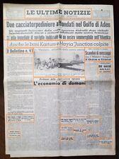WW2-ACCORDO DI CRAIOVA TRA IL DUCE E I MINISTRI BULGARI-DEL12-09-1940 N.1768