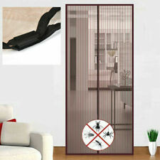 Magnetic Instant Door Screen Mesh Curtain Magic Fly Insect Mosquito Snap Net