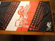 Liverpool Football Club Black Red White Logo Flag