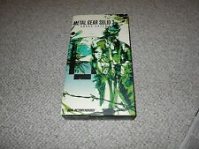 Metal Gear Solid 3 Snake Eater RAH Real Action Hero Figure MIB Medicom 12 inch