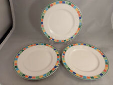 Set of 3 Villeroy & Boch Twist Caro Bread and Butter Plates