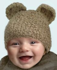Crochet Pattern / Instruction leaflet quick & easy TEDDY BEAR HAT p37 baby hat