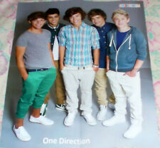 ONE DIRECTION 1D / SUPERNATURAL RUSSIAN FOLD OUT POSTER 2013 IN MINT CONDITION 2