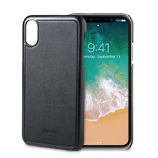 CELLY MAGNETIC COVER IPHONE XS/X BK
