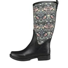 BRAND NEW IN BOX - UGG REIGNFALL LIBERTY WELLINGTON BOOTS WELLIES BLACK - SIZE 4