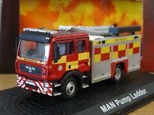 ATLAS OXFORD COUNTY DURHAM DARLINGTON MAN PUMP FIRE ENGINE TRUCK MODEL JW10 1:76