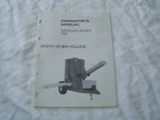 New Holland 359 grinder-mixer owner's operator's manual
