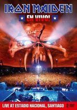 IRON MAIDEN - En Vivo! 2 DVD *NEW* Live in Chile PAL All Region