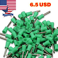 100 PCS Dental Prophy Polishing Cup Latch Type for Contra Angle Handpiece