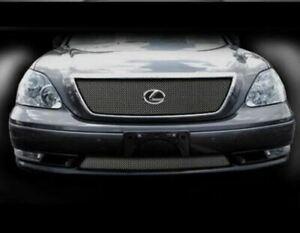 Lexus LS 2004 - 2006 Upper Main Mesh Overlay & Lower Bumper Grille Kit LS430 430