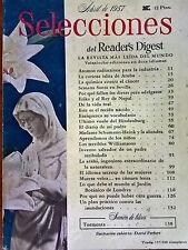 Revista Selecciones del Reader´s Digest vintage - abril 1957 España - publicidad