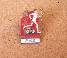 Atlanta 1996 Olympic Torch Relay lapel pin Coca Cola