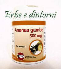 ANANAS GAMBO 90 cpr. 500 mg. Cellulite, ritenzione idrica, dimagrante, diuretico