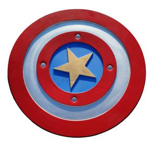 Captain America Large Adults Kids 1:1 Foam Cosplay Shield Costume Fantasy Dress