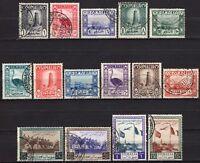 #586 - Somalia AFIS - Lotto di 15 francobolli, 1950/51 - Usati