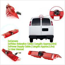 Brake Light IR Backup Camera For Chevrolet Express GMC Savana Van 04-16