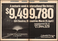 CLOSE ENCOUNTERS OF THE THIRD KIND__Orig 1978 Trade AD promo / poster__SPIELBERG