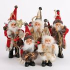 Christmas Santa Claus Ornaments Xmas Festival Party Tree Hanging Decoration New