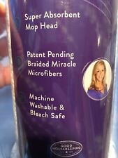 2 Joy Mangano The New Miracle Mop Refill Replacement Head. New. Unopened.