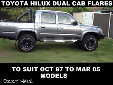 TOYOTA HILUX FLARES DUAL CAB 97 TO 05 MODELS OZZY MADE